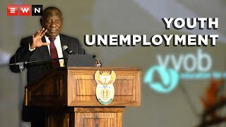 During President Cyril Ramaphosa' address at the National Teaching Awards ceremony, he spoke about youth unemployment.  #Ramaphosa #NTA