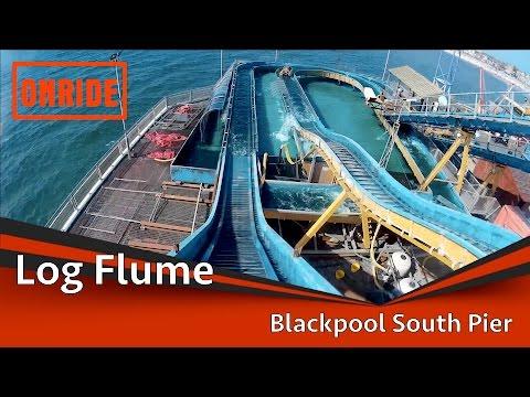 Blackpool South Pier - Log Flume Onride