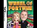 Nintendo DS Wheel of Fortune 2nd Run Game #2