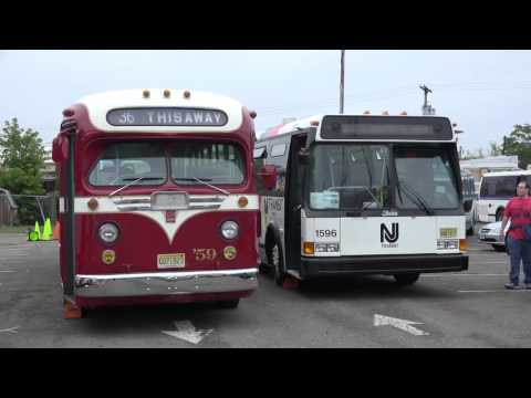 NJ TRANSPORTATION HERITAGE CENTER OPEN HOUSE BUS EPISODE ( NJ TRANSIT HISTORICAL FLEET )