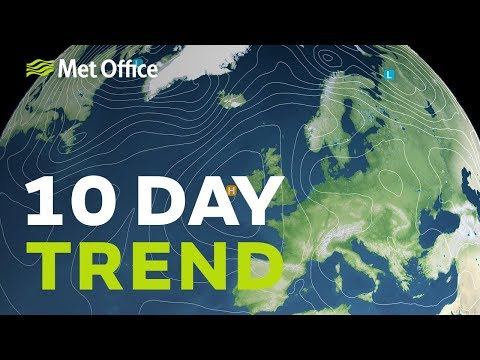 10 Day trend – Any spring-like sunshine on the way? 20/03/19