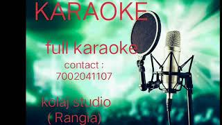 zubeen garg diya ghurai diya karaoke // assames song karaoke