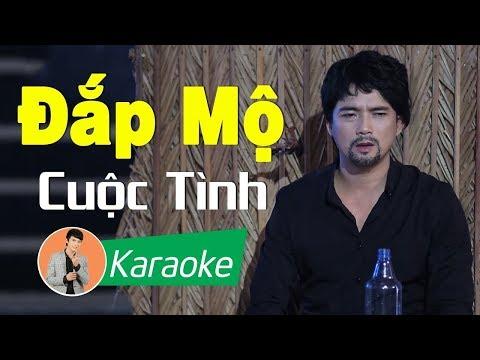 Đắp Mộ Cuộc Tình (St. Vũ Thanh) - Lê Sang [Karaoke MV HD]