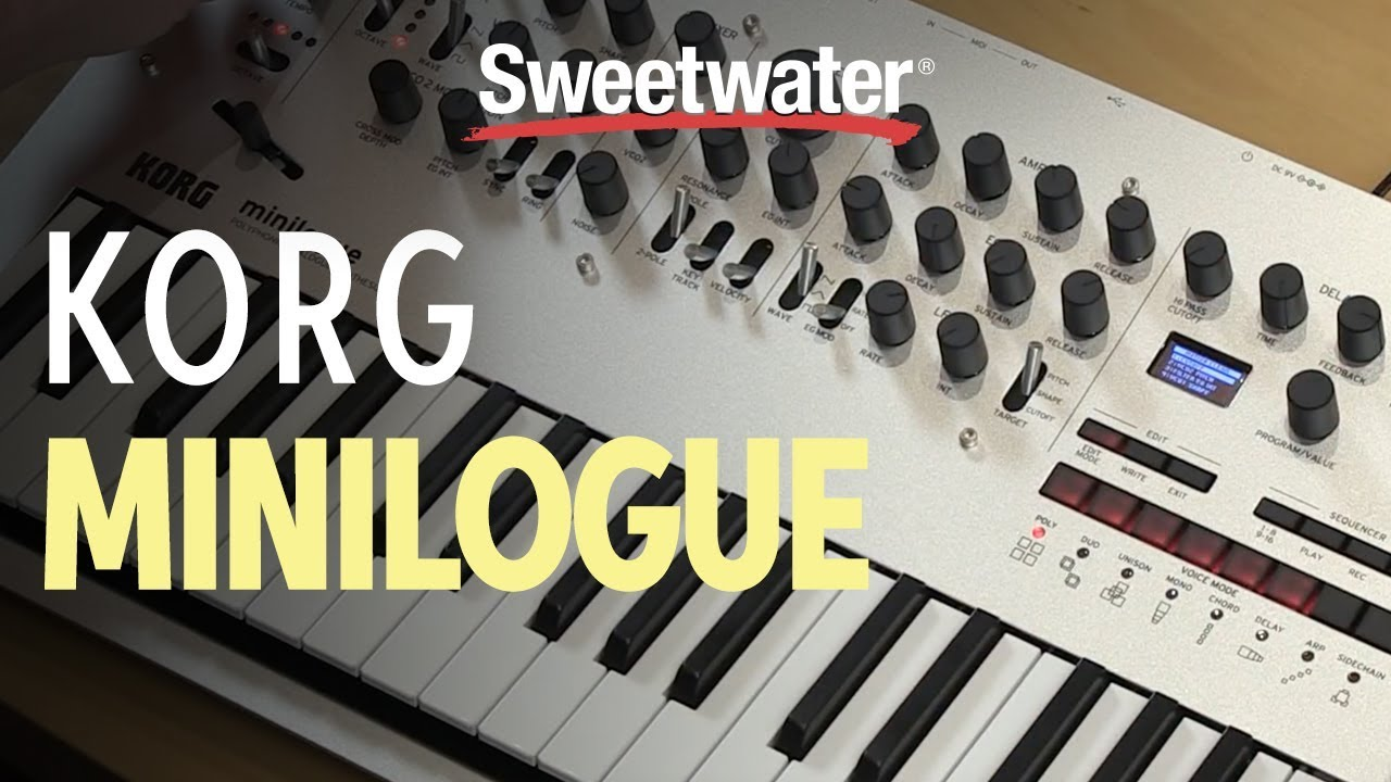 Best Analog Synths for Beginners   Sweetwater