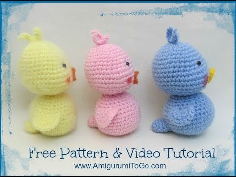 How To Crochet A Duck Body Tail Youtube