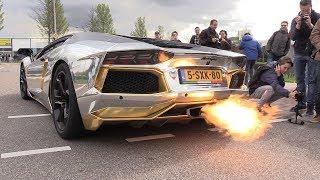 The BEST LAMBORGHINI AVENTADOR V12 Engine SOUNDS Ever!!