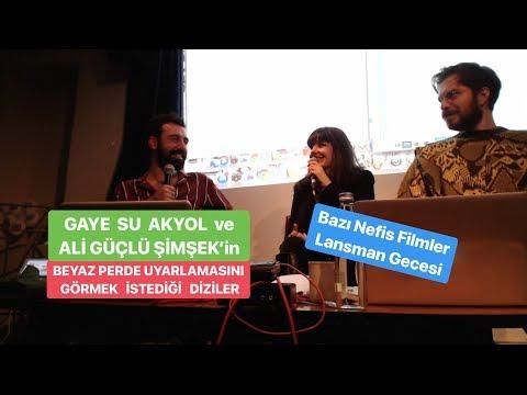 Gaye Su Akyol Ve Ali Güçlü Şimşek'in Filmini Beklediği Diziler - BAZI NEFİS FİLMLER Lansman Gecesi 3