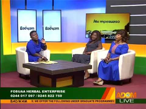 Fosuaa Herbal Enterprise - Badwam on Adom TV (25-1-18)