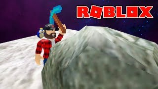 MINE ON THE MOON! | ROBLOX #admiros