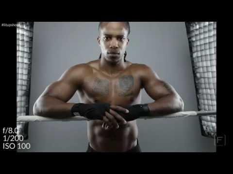 Joel Grimes Troy Palamalu Soft Edgy Sports Light
