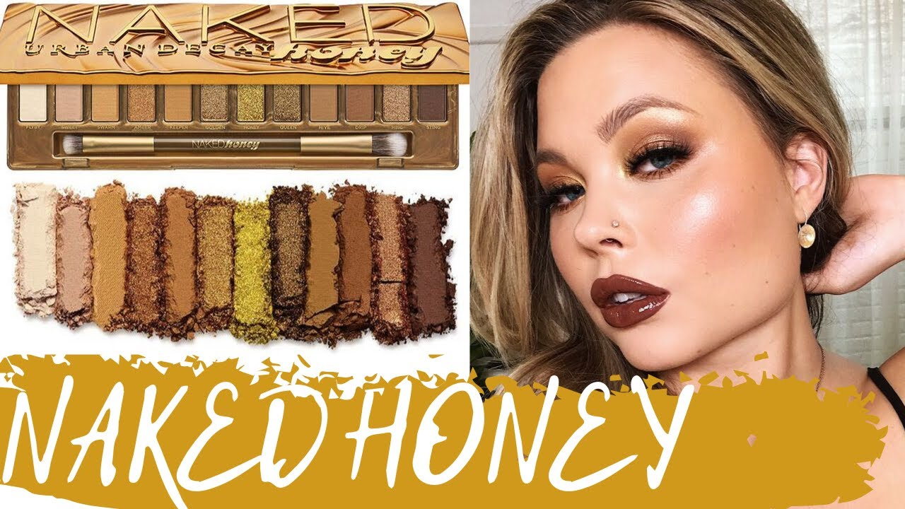 URBAN DECAY NAKED HONEY PALETTE   SWATCHES + REVIEW