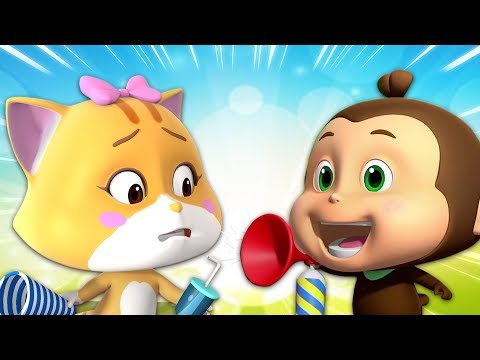 Contagious Hiccups | Cartoon Show For Children | Baby Videos By Loco Nuts