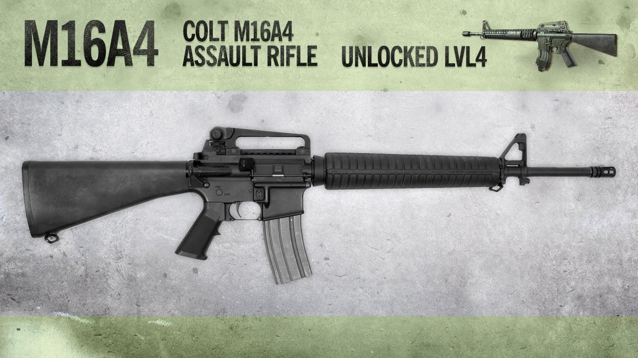 m16a4 mw3 weapon guide gameplay gun review youtube