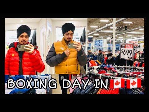 Boxing Day In Canada #boxingday #shopping #canada