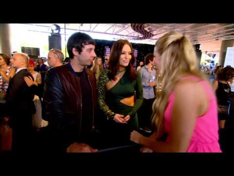 EXAMPLE & ERIN McNAUGHT  - ARIA Awards 2012 Red Carpet interview