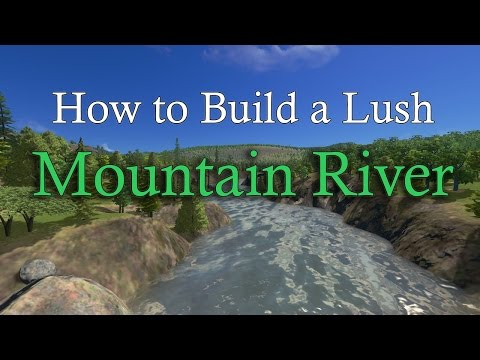 Cities Skylines: How to make a detailed Mountain River!
