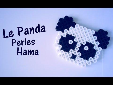 Comment faire un panda avec des perles Hama