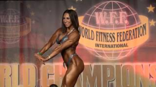 Lara Tasharofi - Women Athletic WFF World Championship 2016