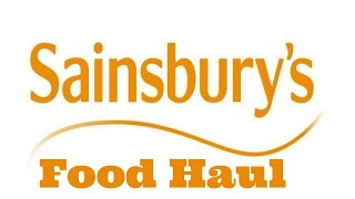 Sainsburys Food Haul 13th June 15 - Katy Beach