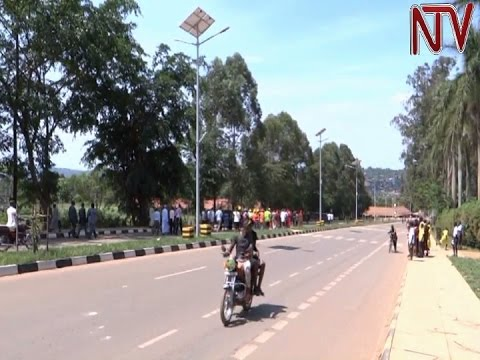 Government commissions new roads in Masaka municipality