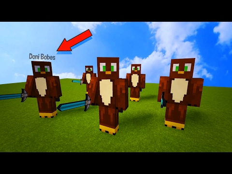 CREATING CLONES OF A PLAYER IN MINECRAFT! - Minecraft Trolling