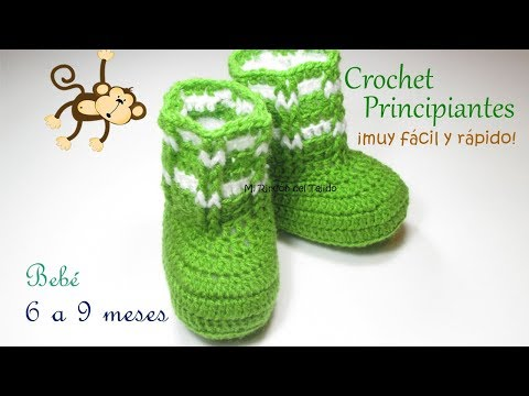 How to crochet baby SHOES step by step