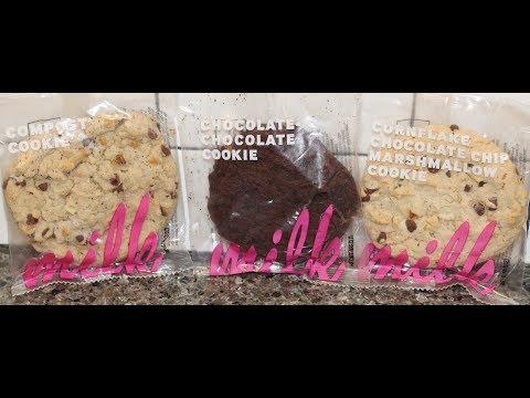Momofuku Milk: Compost Cookie, Chocolate Chocolate Cookie & Cornflake Chocolate Chip Marshmallow