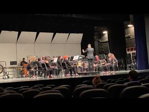 Copper canyon high school concert band 2019
