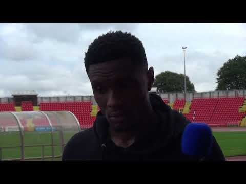 Midfielder Kelvin Etuhu on being back in the fold