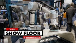 Robotic End Effectors Simplify Pneumatic Gripping and Robotic Sanding Applications