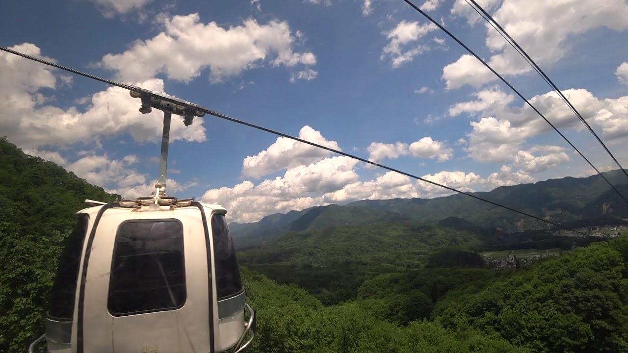 白馬 岩岳 ゴンドラ リフト