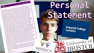 Imperial College London Computing Personal Statement