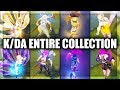 All K/DA Skins Spotlight Entire Collection Akali KaiSa Ahri Evelynn - League of Legends