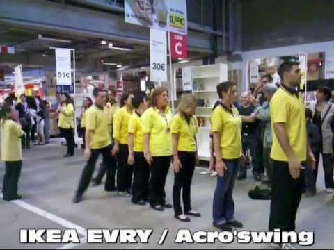 Flashmob ikea evry par acro 39 swing youtube - Horaire ikea evry ...