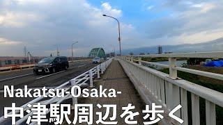 大阪メトロ御堂筋線を散歩#17 大阪梅田茶屋町周辺-Walking Tour  Umeda chayamachi Osaka Japan- Gopro Hero8