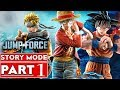 JUMP FORCE Story Mode Gameplay Walkthrough Part 1 [1080p HD Xbox One X] - No Commentary