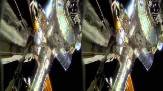 3D Space Walk Side by Side GoPro Google Cardboard VR Virtual Reality