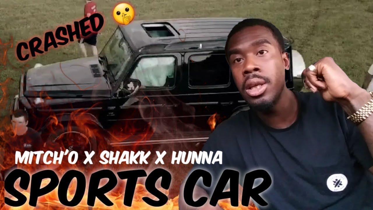 AMERICAN REACTS TO UK RAPPERS Mitch'O x Shakk x Hunna - Sports Car
