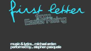 First Letter (from Easter Rising)