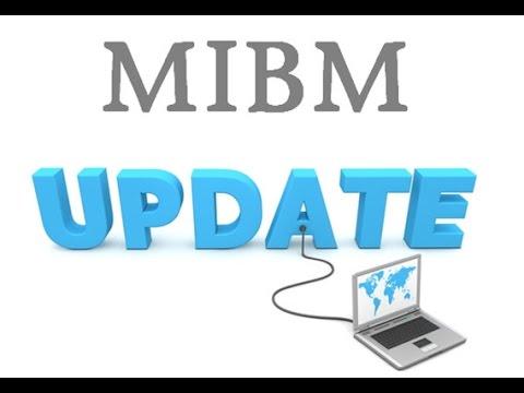 MIBM: UPDATE