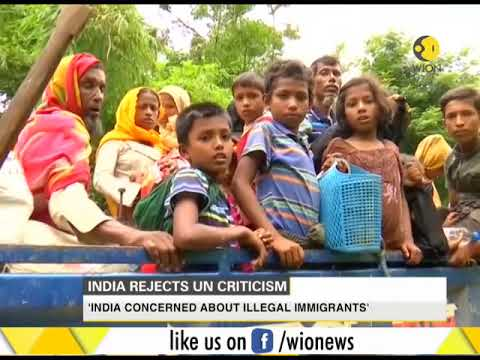 India rejects UN human right's high commissioner criticism on Rohingyas