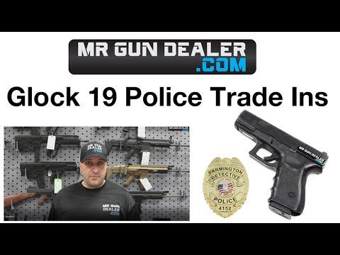Glock 19 9mm Police Trade In 15rd Fair Condition Gen 3