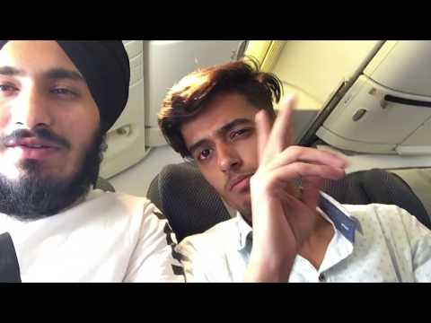 Indian Student Journey Punjab To Canada (Delhi To Toronto ) British Airline ...September 2018 Intake