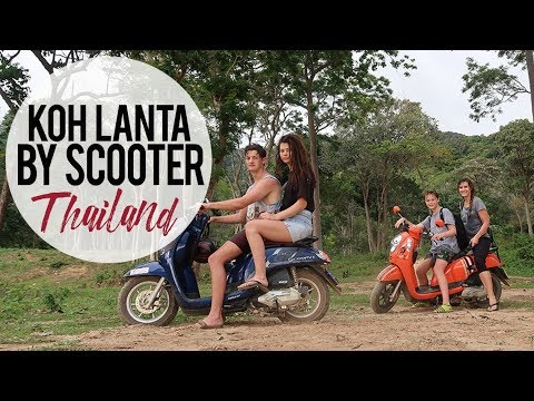 Beautiful Koh Lanta, Thailand   Traveling by Scooter