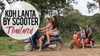Beautiful Koh Lanta, Thailand | Traveling by Scooter