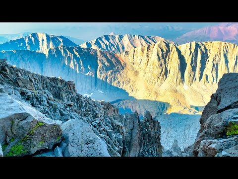 Mount Whitney Backpacking the Highest Peak in the Cont. USA 14505ft Sequoia National Park Mt hike