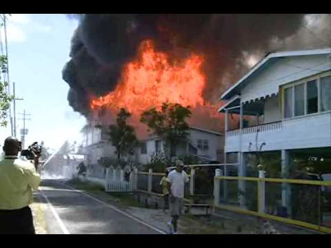 fire in berbice guyana youtube. Black Bedroom Furniture Sets. Home Design Ideas