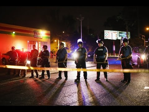 militarized-war-zone-over-michael-brown-killing;-journalists-arrested