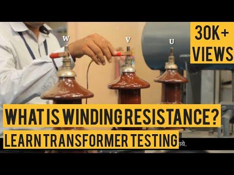Transformer Testing - WINDING RESISTANCE TEST [ हिंदी ]