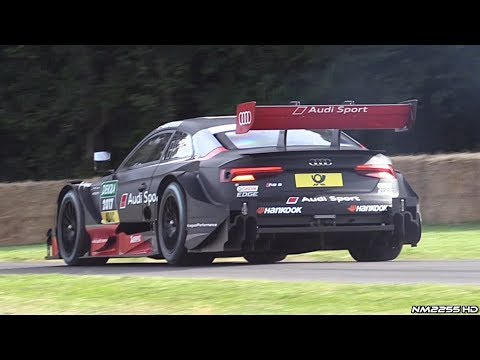 2017 Audi RS5 DTM 4.0 NA V8 Engine Sounds @ Goodwood Festival of Speed